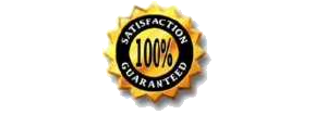 Martinez Landscaping 100% Satisfaction Guaranteed logo