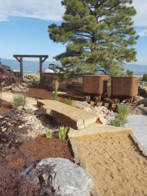 Rustic Golf Mine theme - Higham property in Boulder