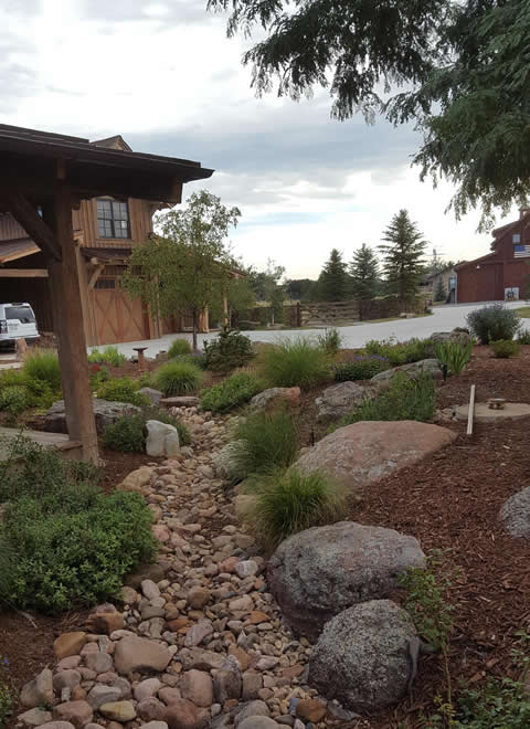 Landscape design for low maintenance - Higham property in Boulder