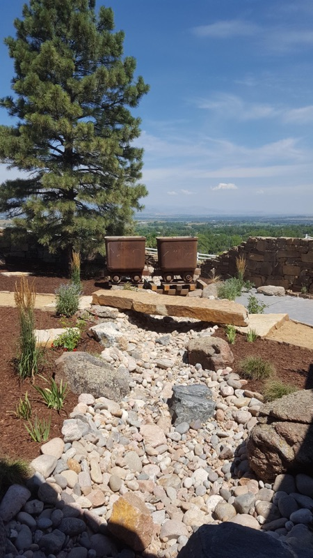 Stone bridge featured in Higham project in Boulder